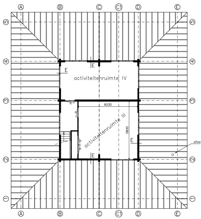 Plattegrond ruimte 3